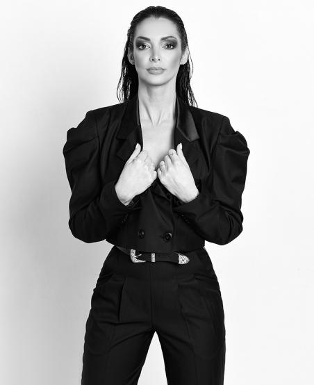Veste tailleur courte Condorcet ©MiratParis