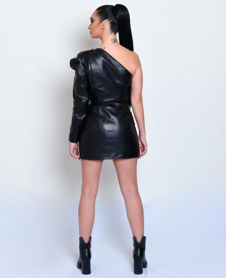 Robe perfecto asymétrique ALMA ©MiratParis